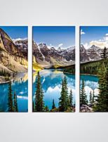 Stampe a tela Tre Pannelli Tela Orizzontale Stampa Decorazioni da parete For Decorazioni per la casa