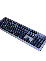 Ajazz AK60 Green Axis 110Keys USB RGB Backlit Wired Mechanical Keyboard With 180CM Cable