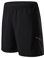Men's Women's Running Shorts Moisture Wicking Quick Dry Shorts for Running/Jogging Exercise & Fitness Basketball Loose Black