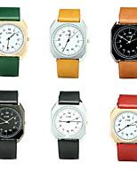 Муж. Модные часы Наручные часы Повседневные часы Китайский Кварцевый / PU Группа Винтаж Повседневная Люкс Элегантные часы Черный