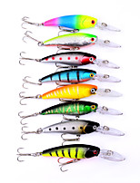 8pcs Bionic Bait 9cm Fake Bait Random Color