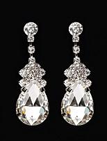 Women's Drop Earrings Rhinestone AAA Cubic Zirconia Vintage Classic Elegant  Earrings Jewelry For Wedding Anniversary Party