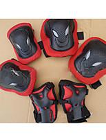 Adulte Équipement de protection Protège Genoux, Protège Coudes & Protège Poignets pour Cyclisme Patinage sur glace Skateboard Roller en