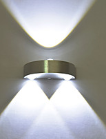 Multi-Color AC85-265 3 LED Integrated LED Novelty Feature for Mini Style Ambient Light Wall Sconces Wall Light  Lamp