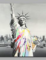 Ручная роспись Люди Modern 1 панель Холст Hang-роспись маслом For Украшение дома