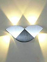 4 LED Intégré LED Nouveauté Fonctionnalité for Style mini,Eclairage d'ambiance Applique murale