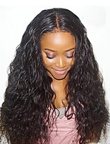 Premier ®Hair Loose Curly Wave Lace Front Wig Virgin Hair Glueless Human Hair with Baby Hair For African Americans