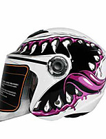 TANK TK-717 Motorcycle  Helmet Electric Car Female Half-Cover Four Seasons Half Helmet Winter with Small Brace