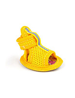 Dog Shoes & Boots Casual/Daily Sports Solid Blushing Pink Blue Ruby Yellow
