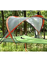 2 personnes Tente Tente pliable Tente de camping Nylon Alliage d'Aluminium Etanche Résistant à la poussière Antiusure Tente-Camping /