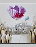 Big Size Hand Painted Flower Oil Painting On Canvas Modern Wall Art Pictures For Home Decoration No Frame