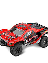 WLTOYS A313 RC Cars 1:12 Scale 2.4G 2WD 35km/h Rechargeable RC Short Truck Off-road Car RTR