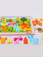 Jigsaw Puzzles Jigsaw Puzzle Building Blocks DIY Toys Square Wooden