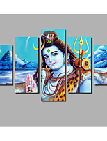 2017 Modern Canvas Modular Buddha Statue Paintings For The Hall Living Room Decor Modern Landscape Printings Unframed