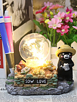 Bear Anime Figure Toy Japan Mascot Kumamoto Zakka craft LED Night Light Decor Table Lamp Child Xmas Gift