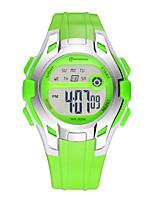 Kid's Sport Watch Digital Watch Digital Water Resistant / Water Proof Rubber Band Blue Red Green Purple