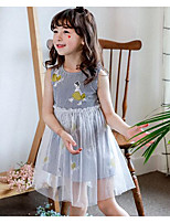 Girl's Cartoon Dress,Cotton Summer Sleeveless