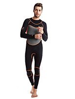 Men's Boating Thermal / Warm Ultraviolet Resistant Nylon Neoprene Diving Suit Long Sleeve Diving Suits-Swimming Beach Surfing Diving &