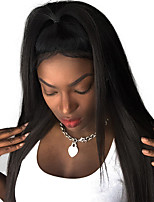 180% Density 360 Lace Frontal Wig Pre Plucked Malaysian Silky Straight Human Remy Hair Natural Black 10-24inch in stock