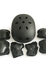 Enfants Équipement de protection Protège Genoux, Protège Coudes & Protège Poignets Casque de Skate pour Cyclisme Patinage sur glace