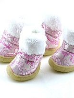 Dog Shoes & Boots Cosplay Cartoon Red Blue Blushing Pink