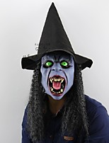 Fangs ночь ведьма Хэллоуин рождественский бар вечеринка дом призрака ужасный хитрый люди латекс головной убор маска одеваются выполнять
