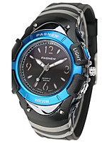 Men's Sport Watch Fashion Watch Digital Water Resistant / Water Proof Rubber Band Black Blue Pink