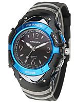 Муж. Спортивные часы Модные часы Цифровой Защита от влаги Pезина Группа Черный Синий Розовый