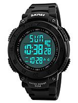 SKMEI Hombre Reloj Deportivo Reloj Militar Reloj de Moda Reloj de Pulsera Reloj digital Japonés DigitalLED Calendario Cronógrafo