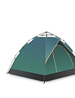 3-4 persons Travel Bag Fold Tent Camping Tent Stretch Satin Keep Warm-Camping / Hiking-