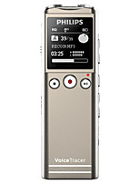 PHILIPS VTR6200 Digital Voice Recorder FM Voice Segmented Telephone Recording 30 Meters Long Distance 8G