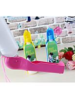 Собака Миски и бутылки с водой Животные Чаши и откорма Желтый Синий Розовый