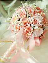 YuXiYing Hemispherical Small Rose Wedding Bride Small Bouquet  13 cm In Diameter More Colors