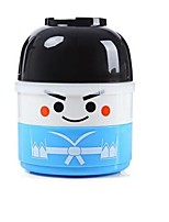 850ml Vacuum Thermal Double Layer Lunch Box Lovely Doll for Kids