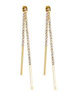 Mujer Pendientes colgantes Pendiente Pendientes Set CristalDiseño Básico De Armar Estilo Simple Británico Clásico Moda Personalizado