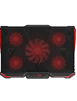 COOLCOLD Laptop Cooling Pad 15.6 Inch Notebook USB 5Fans Mute Radiator
