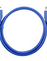 USB 3.0 Câble d'extension, USB 3.0 to USB 3.0 Câble d'extension Mâle - Femelle 0.6m (2Ft)