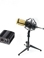 Professional BM 800 Condenser Microphone Pro Audio Studio Vocal Recording Mic With 48v Phantom Power