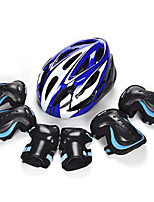 Kids' Adult Protective Gear Knee Pads + Elbow Pads + Wrist Pads Skate Helmet for Cycling Skateboarding Inline Skates Hoverboard Eases