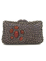 Lady Delicate Gem Rhinestone Clutches And Evening Bags