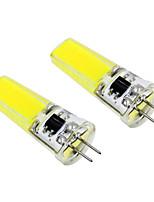 3W LED à Double Broches T 1 COB 300 lm Blanc Chaud Blanc V 2 pièces