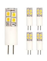 3W Luci LED Bi-pin T 19 SMD 2835 200 lm Bianco caldo Luce fredda V 5 pezzi
