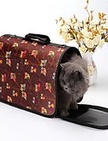 Cat Dog Carrier & Travel Backpack Pet Carrier Portable Breathable Stripe Cartoon Owl Khaki Stripe Black Blushing Pink Blue