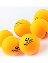 6pcs 1 Star Ping Pang/Table Tennis Ball