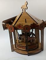 Jigsaw Puzzles 3D Puzzles Building Blocks DIY Toys Horse Wood