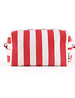 Women Clutch Canvas All Seasons Casual Outdoor Round Zipper Red Black