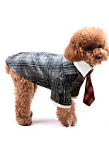 Dog Tuxedo Dog Clothes Wedding British Black Gray Leopard