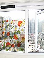 Fleur Autocollant de Fenêtre,PVC/Vinyl Matériel Décoration de fenêtre