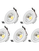 3W LED Downlights Warm White Cool White AC 100-240V LED 5 pcs