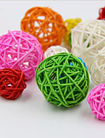 10Pcs/Group 5cm Birthday Party Decor Wedding Decoration Rattan BallChristmas Decor Home Ornament Home Decoration
